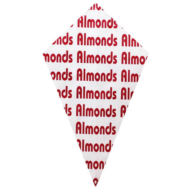 """Red """"Almonds"""" - Paper Cone"""