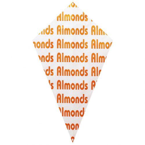 """Orange """"Almonds"""" - Paper Cone"""