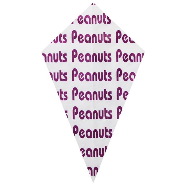 """Purple """"Peanuts"""" - Paper Cone"""