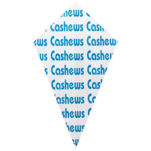 """Blue """"Cashews"""" - Paper Cone"""