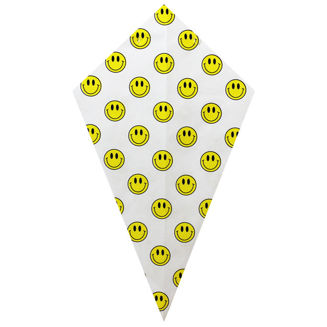Yellow Smiley Faces - Paper Cone