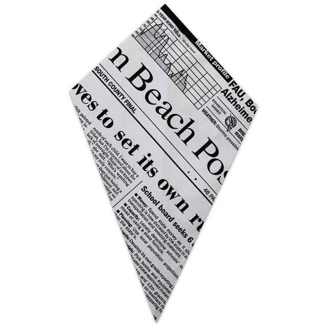 Newspaper - Paper Cone