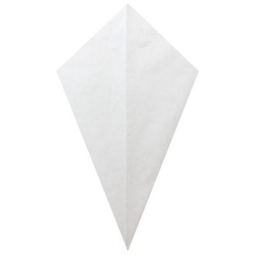 All White - Paper Cone