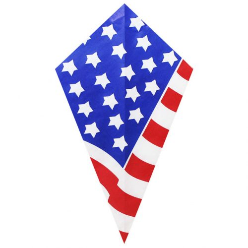 American Flag Large Pattern - Paper Cone