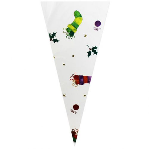 Christmas Stockings & Ornaments - Plastic Cone