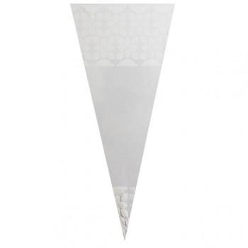 White Pattern - Plastic Cone